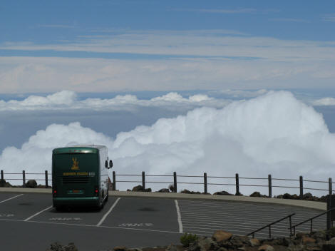 Highway to Heaven - Road to the Summit of Mount Haleakala