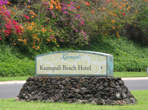 Kaanapali Beach Hotel, Maui Hawaii