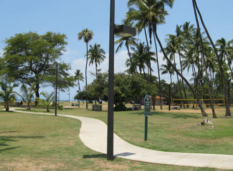 Kalama Park in South Kihei, Maui Hawaii