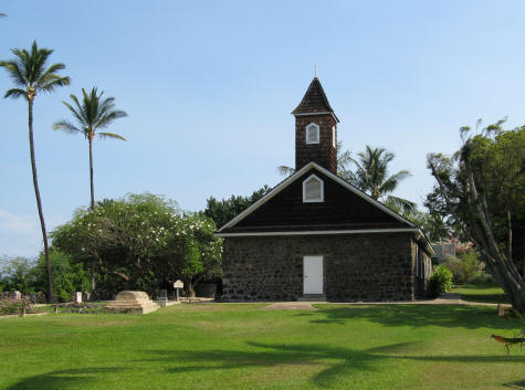 Keawalai Church in Hawaii