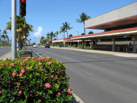Kuhului Airport on the Island of Maui in Hawaii