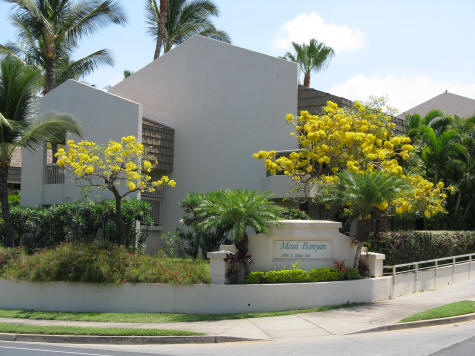 Maui Banyan Condos in Kihei Hawaii